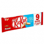 Kit Kat 2 Finger Cream And Cookies 9 Pack 186.3G